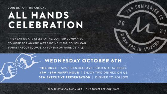2021 All Hands Celebration